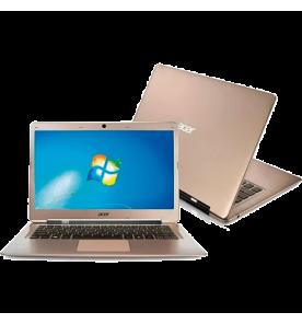 "Ultrabook Acer S3-391-6632 - Intel Core i3 - RAM 4GB - HD 320GB - 20GB SSD - LED 13,3"" -  Windows 7"