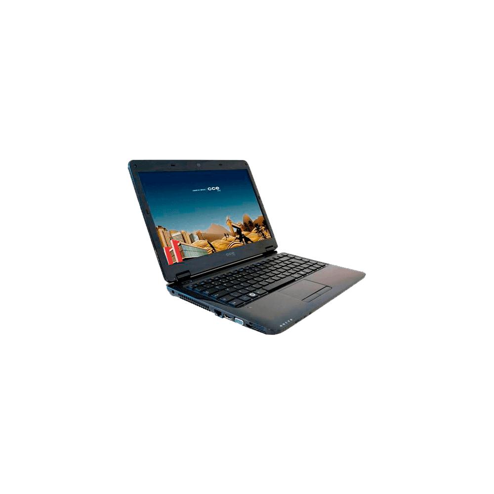 "Notebook CCE Win D23L – Intel Core i3 – 320GB HD – 2GB RAM -  Linux – Tela LED 14"""