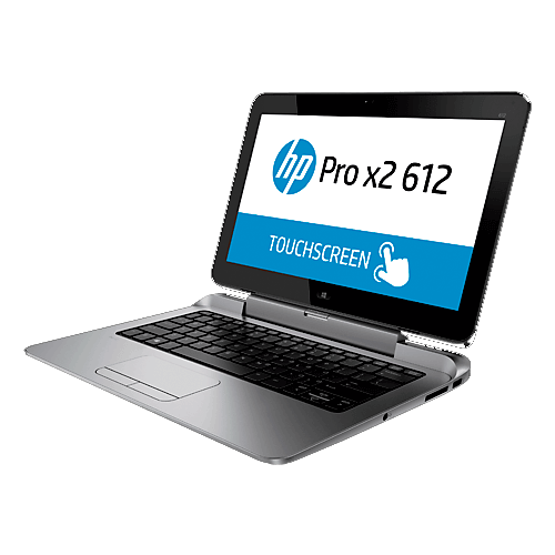 "Notebook HP 2X1 PRO 612 X2 G1 - Intel Core i3-4012Y - RAM 4GB - SSD 64GB - LED 12.5"" - Windows 8"