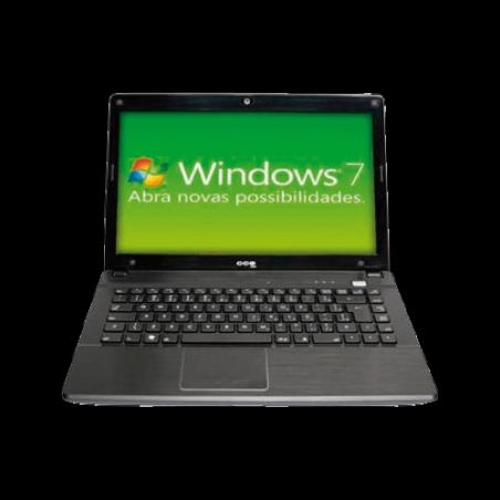 Notebook CCE Iron 533B - Intel Core i5-2410M - RAM 3GB - HD 320GB - Windows professional