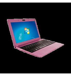"Netbook CCE Winbook NR23S Rosa - Intel Atom N435 - RAM 2GB - HD 320GB - LED 10.1"" - Windows 7 Starter"