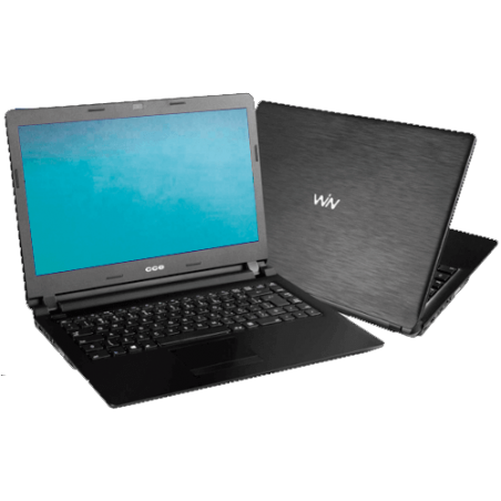 "Notebook CCE U25L+ - Intel Celeron 847 - RAM 2GB - HD 500GB - Tela LED 14"" - Linux"