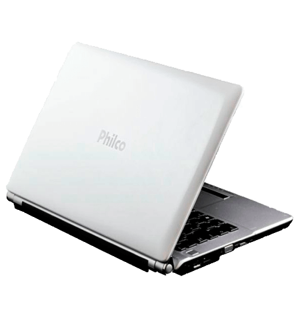 "Notebook Philco 14F2-B724WS Branco - AMD C-50  - HD 500GB - RAM 2GB - LED 14"" - Windowns 7 Starter"