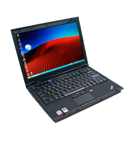 "Notebook Lenovo ThinkPad X301-2774AR1 - Intel Core 2 Duo SU9400 - RAM 3GB - SSD 128GB - Tela 13.3"" - Windows Vista"