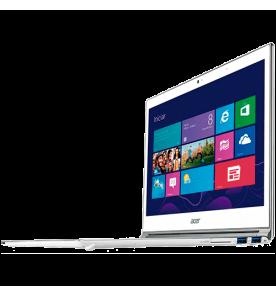 "UltraBook Acer S7-391-6677 - Intel Core i5-3317U - RAM 4GB - SSD 128GB - Tela LED 13.3"" Touchscreen - Windows 8 - Branco"