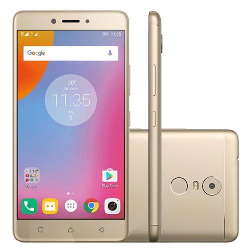 Smartphone Lenovo Vibe K6 Plus K53B36 - 32GB - Dual-Chip - 16MP - Tela 5.5 - Dourado - Android 6.0
