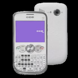 Celular CCE MOBI QW35 - Branco - 4GB - Dual-Chip - Teclado QWERTY - Câmera - Desbloqueado