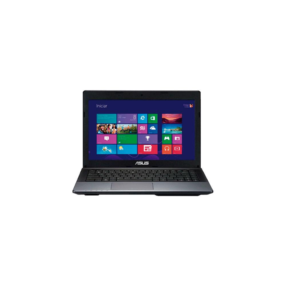 "Notebook Asus X45U-VX021H - AMD Fusion C-60 - RAM 4GB - HD 320GB - LED 14"" - Windows 8"