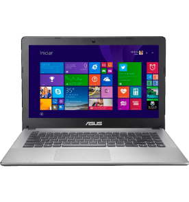 Ultrabook Vivobook Asus S400CA-CA077H - Intel Core i5-3317U - HD 500GB - RAM 4GB - LED de 14'' Touchscreen - Windows 8
