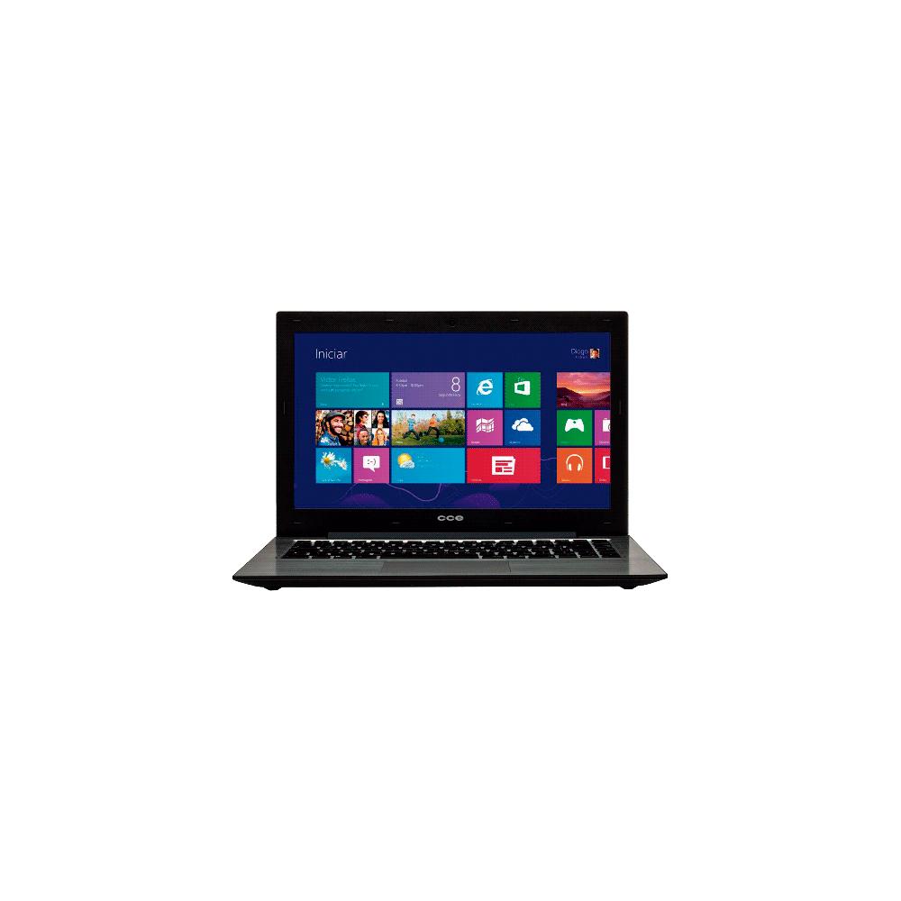 "Notebook CCE Ultra Thin S345 - Intel Core i3-3217U - HD 500GB - RAM 4GB - LED 13,3"" - Windows 8"