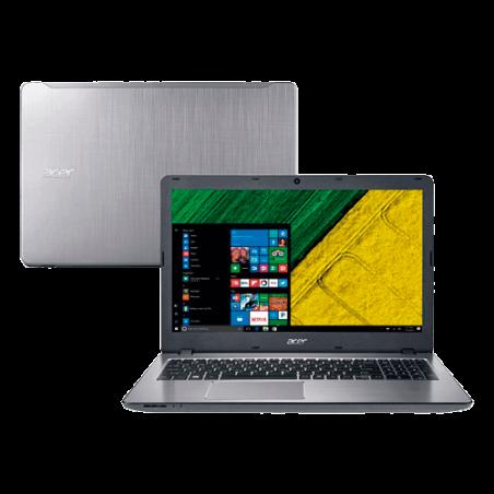 "NOTEBOOK ACER F5-573G-75A3 - Prata - Intel Core i7-7500U - RAM 8GB - HD 1TB - Tela 15.16"" - Windows 10"