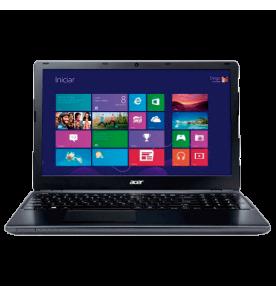 "Notebook Acer E1-522-5-BR684 Preto - RAM 4GB - HD 500GB - AMD A4-5000 - LED 15.6"" - Windows 8"