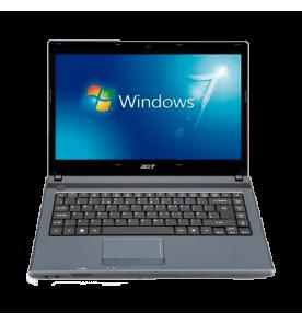 "Notebook Acer AS4739Z-4647 Intel Pentium Dual Core P6200 -14"" - RAM 2GB - HD 320GB - Windows 7 Starter"