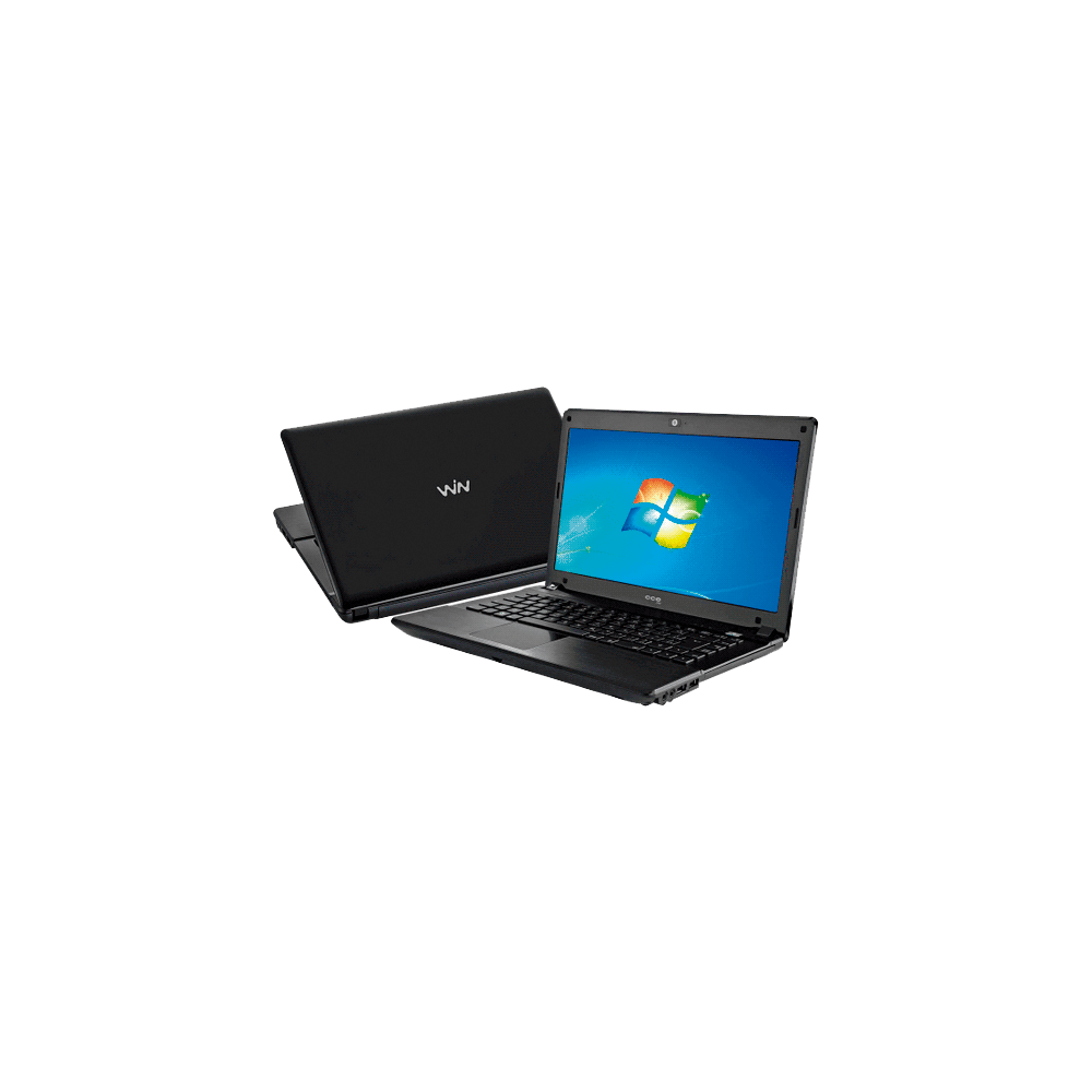 "Notebook CCE X30S - Dual Core - RAM 2GB - HD 320GB - LED 14"" - Windows 7 Starter"