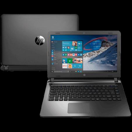 "Notebook HP 14-AP020 Intel Core i3-5005U - 4GB RAM -500GB HD - Tela LED 14"" - Windows 10"