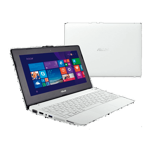 "Notebook Asus Branco R103BA-BING-DF088B - AMD Dual Core A4-1200 - RAM 2GB - HD 320GB - LED 10.1"" - Touchscreen - Windows 8.1"