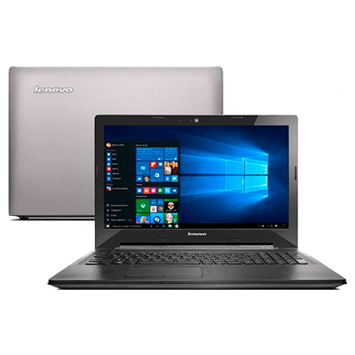 "Notebook Lenovo G50-80-80R00009BR Prata - Intel Core i7-5500U - RAM 8GB - HD 1TB - Tela 15.6"" - Windows 10 Home"