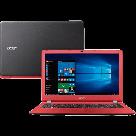 Notebook Acer ES1-572-53GN – Intel Core i5 - 4GB RAM - 1TB HD – Windows 10 – Vermelho