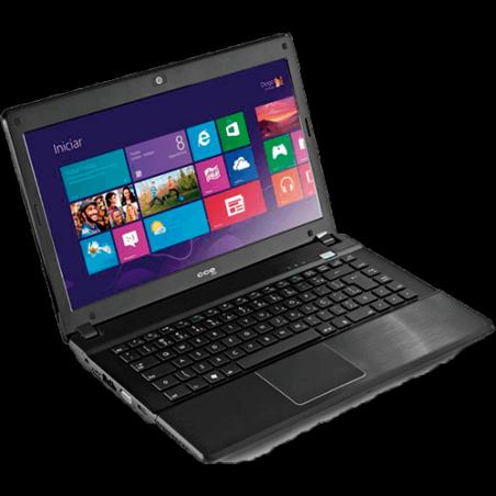 "Notebook CCE Win D45L - i3-330M - 500GB HD - 4GB RAM - LED 14"" - Gravador DVD"