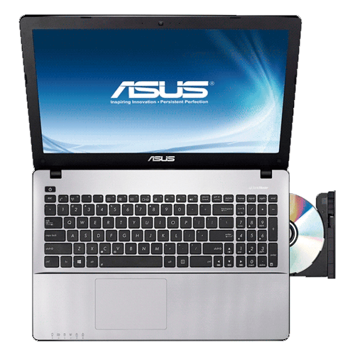 Notebook Asus X550CA-BRA-XX502H - Intel Core i5-3317U - RAM 6GB - HD 500GB - LED de 15.6'' - Windows 8