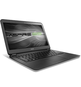 "Ultrabook Acer S5-391-6600 - Intel Core i5-3317U - RAM 4GB - SSD 128GB - LED 13.3"" - Windows 7 Home Basic"