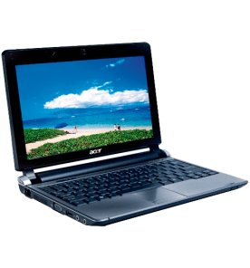 "Netbook Acer AOD250-1879 - Preto - Intel Atom - RAM 1GB - HD 160GB - Tela 10.1"" - Windows XP"