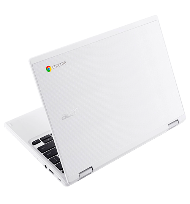 "Notebook Acer CB5-132T-C9F1 - Branco - Intel Celeron N3150 - RAM 4GB - HD 32GB - Tela 11.6"" - Google Chrome OS"