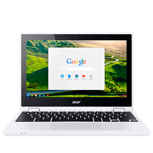 "Notebook Acer CB5-132T-C9F1 - Branco - Intel Celeron N3150 - RAM 4GB - HD 32GB - Tela 11.6"" - Google Chrome OS"