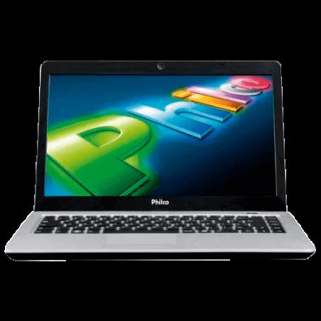 "Notebook Philco Slimbook 14G-R123LM - RAM 2GB - HD 320GB - Intel Dual Core - Linux - Tela 14"" - Rosa"
