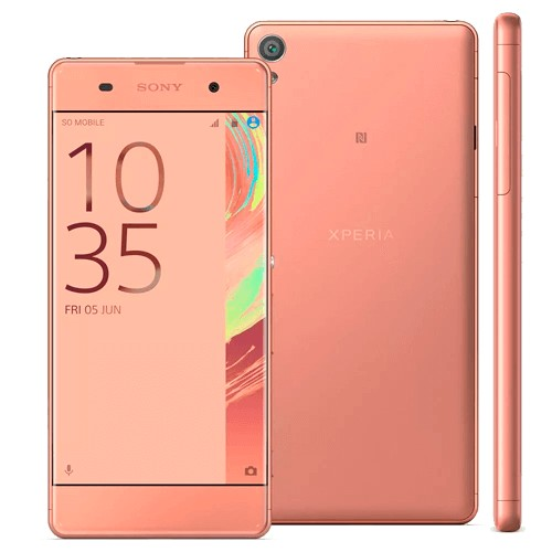 "Smartphone Sony Xperia XA F3115 - Grafite - 16GB - 4G - 13MP - Tela 5"" - Android 6.0"