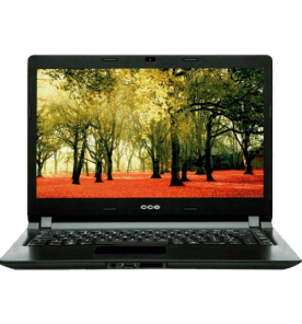 "Notebook CCE Ultra Thin U45L - Intel Celeron 847 - RAM 4GB - HD 320GB - Tela 14"" - Linux"