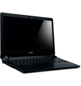 "Notebook CCE Ultra Thin U45L - Intel Celeron 847 - RAM 4GB - HD 320GB - Tela 14"" - Linux"
