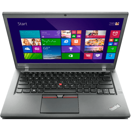 "Notebook Lenovo TP T450S - Preto - Intel Core i5-5300U - RAM 8GB - HD 500GB - SSD 16GB - Tela 14"" - Windows 8"