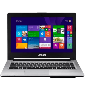 "Notebook Asus S46CB-WX229H - Cinza - Intel Core i7-3537U - RAM 8GB - HD 500GB - NVIDIA® Geforce GT 740M - Tela 14"" - Windows 8"