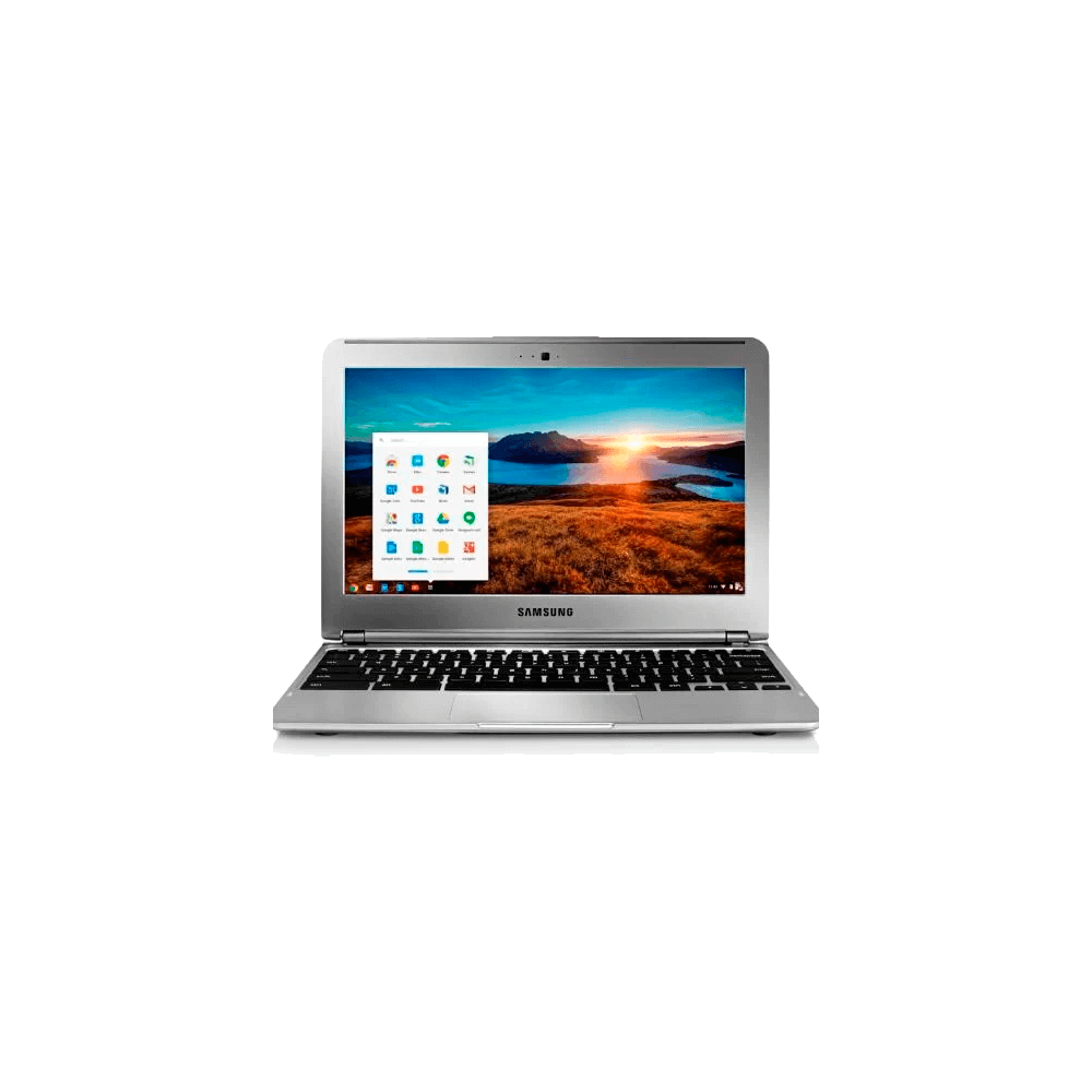 "Notebook Samsung Chromebook XE30C12-AD1BR - Prata - Exynos 5 Dual - RAM 2GB - HD 16GB - Tela 11.6"" - Google Chrome OS"