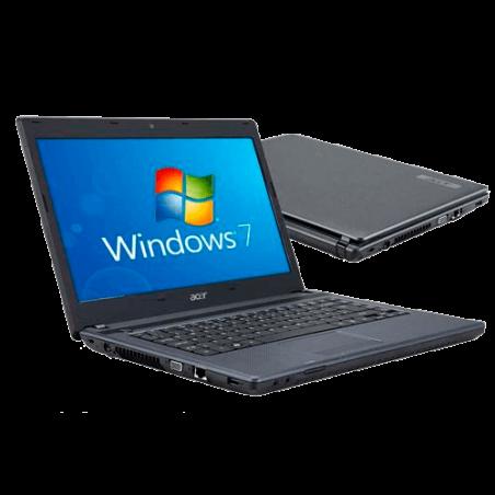 "Notebook Acer AS4739-6831/6407 - Preto - Intel Core i3-370M - RAM 2GB - HD 320GB - Tela 14"" - Windows 7"