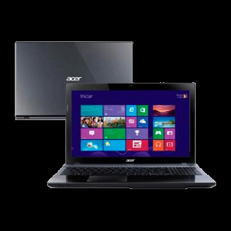 "Notebook Acer V3-571-6855 - Intel Core i5-2450M - RAM 6GB - HD 500GB - Tela 15.6"" - Windows 8"