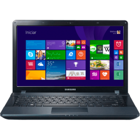 "Notebook Samsung ATIV BOOK 2 NP275E4E-KD2BR - Dual Core - RAM 4GB - HD 500GB - Tela 15.6"" - Windows 8"