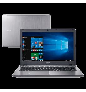"Notebook Acer F5-573-59TV - Prata - Intel Core i5-6200U - HD 1TB - RAM 8GB - Tela LED 15.6"" - Windows 10"