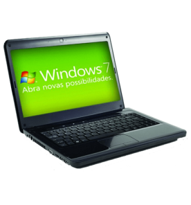 "Notebook Positivo SIM+ 7635 - Intel Core i5-2410M - RAM 2GB - HD 500GB - Tela 14"" - Windows 7"
