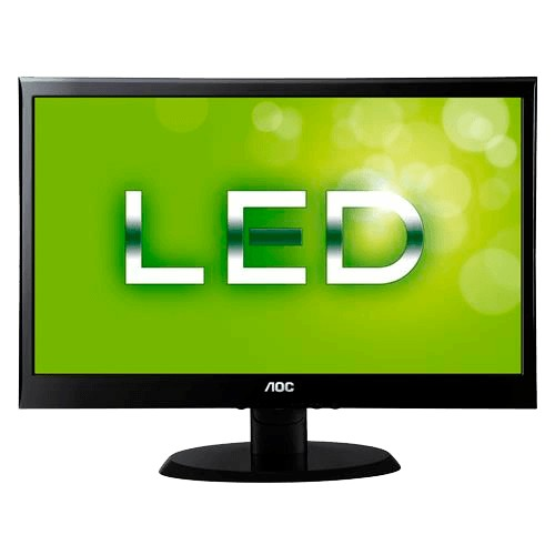 "Monitor AOC LED 19"" - 1600x900 - VGA - 6ms - 200M:1 - Preto"