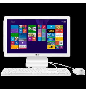 Computador All in One LG 22V240-L.BK55P1 - Quad Core - RAM 4GB - HD 500GB - Windows 8