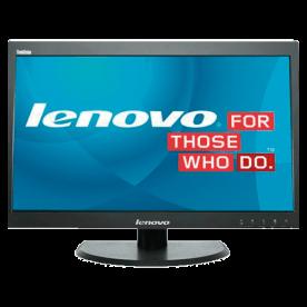 """Monitor Lenovo LT2323PWA de 23"""" polegadas com resolução de 1920 x 1080, qualidade Full HD WideScreen e tela em LCD Flat."""
