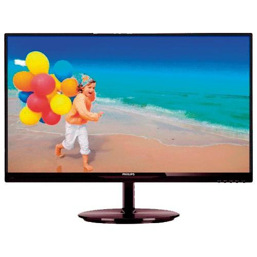 "Monitor Philips LED 23"" - Widescreen - HDMI - VGA - True Vision - FULL HD - 234E5QHAB"