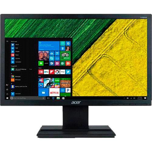"""Monitor Acer V196HQL - Preto - Tela 18,5"""" - HD 60hz - VGA"""