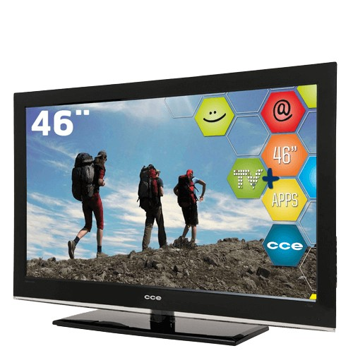 "Smart TV LCD 46"" CCE C4601i - Full HD - 1920x1080 - Conversor Digital"