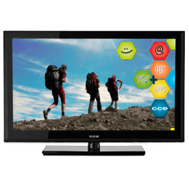 "Smart TV LCD 46"" CCE C4601i - Full HD - 1920x1080 - Conversor Digital"