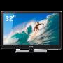 """TV LED 32""""HD Preta CCE - Conversor Digital Integrado - Entradas HDMI e USB"""