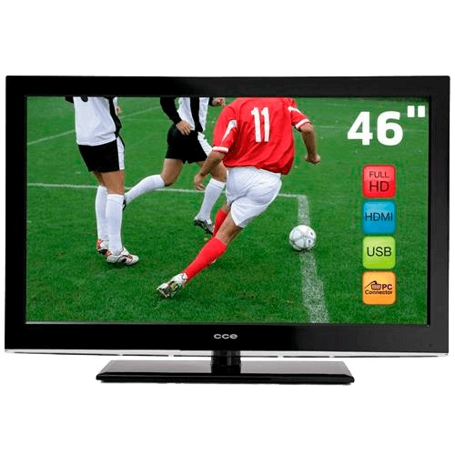 "TV CCE Stile D46 LCD 46"" - Full HD - Conversor Digital - Entrada HDMI - USB"