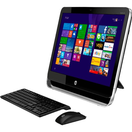 "Computador HP All in One Pavilion 23-G000BR - LED de 23"" - Intel Core i5-4670T - RAM 4GB - HD 500GB - Windows 8.1"